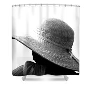 Old Lady Shady Two Shower Curtain