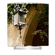 Old Lantern Shower Curtain