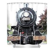 Old Locomotive Shower Curtain