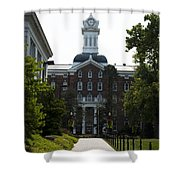 Old Main - Kutztown College Shower Curtain