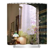 Old Market Reflections Shower Curtain