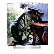 An Old Mill Shower Curtain