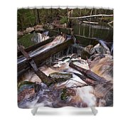 Old Mill Canal Shower Curtain