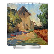 Old Mill Provence Shower Curtain