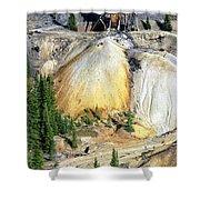 Old Mine Colorado Shower Curtain