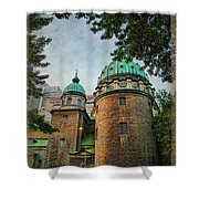 Old Montreal Church Shower Curtain