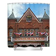 Old Music Hall Tarrytown New York Shower Curtain