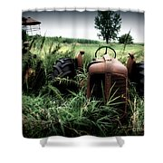 Old Oliver 3 Shower Curtain