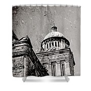 Old Parliament In Bc Shower Curtain