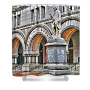 Old Post Office Pavillion Washington Dc Shower Curtain