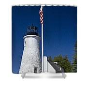 Old Presque Isle Light Station Shower Curtain