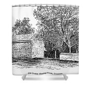 Old Quaker Meeting House Shower Curtain by Granger