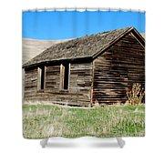 Old Ranch Hand Cabin Shower Curtain