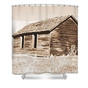 Old Ranch Hand Cabin Ll Shower Curtain