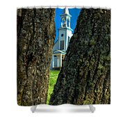 Old Reserve Church Shower Curtain