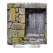 Old Rural House Shower Curtain by Carlos Caetano