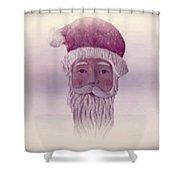 Old Saint Nicholas Shower Curtain