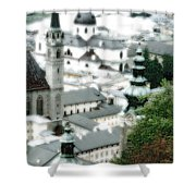 Old Salzburg Shower Curtain