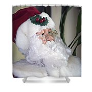 Old Santa Claus Shower Curtain