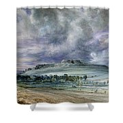 Old Sarum Shower Curtain