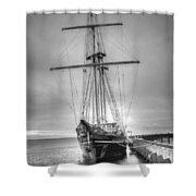Old Ship Shower Curtain