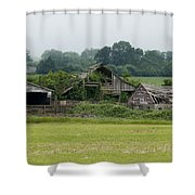 Old Smith River Dairy Shower Curtain