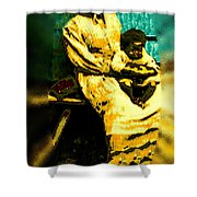 Old South Madonna Shower Curtain