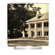 Old Southern Plantation Shower Curtain