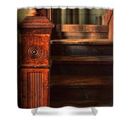 Old Staircase Shower Curtain by Jill Battaglia