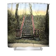 Old Stairs Shower Curtain