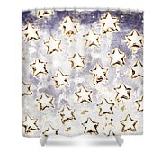 Old Stars Shower Curtain