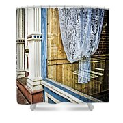 Old Store Front 1 Shower Curtain