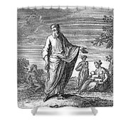Old Testament: Hosea Shower Curtain