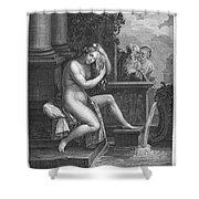 Old Testament: Shoshanna Shower Curtain