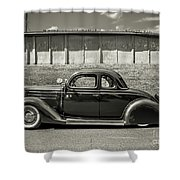 Old Time Class Shower Curtain
