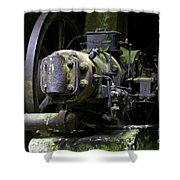 Old Time Equipment Shower Curtain