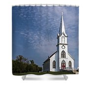 Old Time Religon Shower Curtain