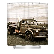 Old Timer 2 Shower Curtain