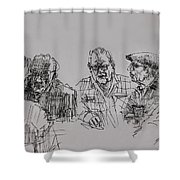 Old-timers  Shower Curtain