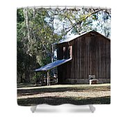 Old Tobacco Road Shower Curtain