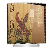 Old Town Grants Pass Detail Shower Curtain