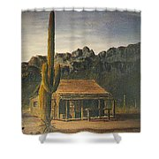 Old Tucson Home Shower Curtain
