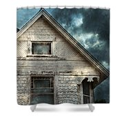 Old Victorian House Detail Shower Curtain