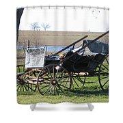 Old Wagon Shower Curtain