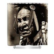 Old Warrior Shower Curtain