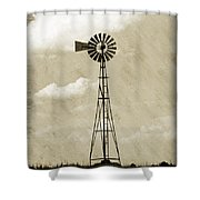 Old Windmill I Shower Curtain