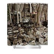 Old World Market Shower Curtain