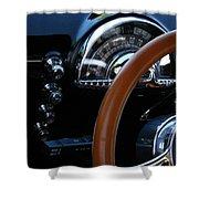 Oldsmobile 88 Dashboard Shower Curtain