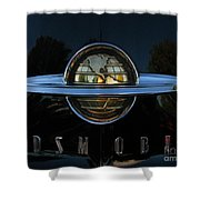 Oldsmobile 88 Emblem Shower Curtain