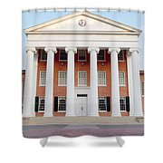 Ole Miss Lyceum One Shower Curtain